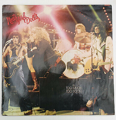 NEW YORK DOLLS - IN TOO MUCH TOO SOON LP 6338 064 MERCURY 1974 HOLLAND