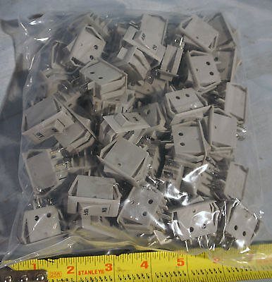 50x Boat RV Home Utility KCD3-3 On / Off Rocker Switch Lot- Free Shipping in USA