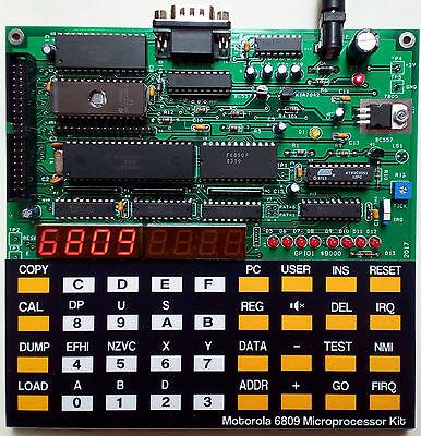интегральные схемы другие Motorola 6809 Microprocessor