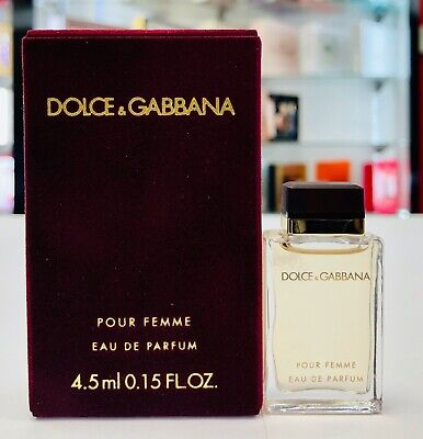 Dolce & Gabbana Pour Femme Eau De Parfum Mini Splash For Women 4.5 ml