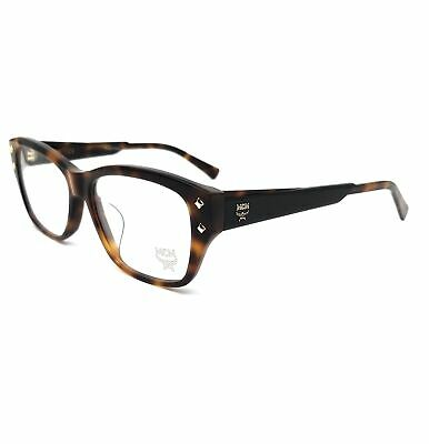 MCM Eyeglasses 2665A 214 Havana Modified Rectangle Unisex 55x16x140