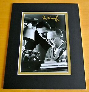 BEN-KINGSLEY-SIGNED-AUTOGRAPH-10X8-PHOTO-MOUNT-DISPLAY-SCHINDLERS-LIST-FILM-COA