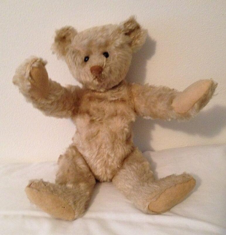"1905 RARE WHITE 14"" STEIFF TEDDY BEAR (OUTSTANDING CONDITION)"