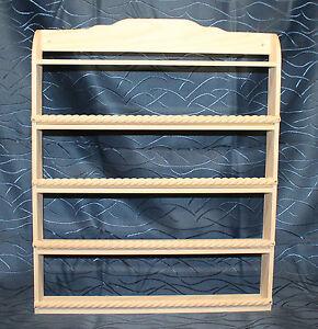 gro es handgefertigtes gew rzregal aus holz mit 5 etagen b den ebay. Black Bedroom Furniture Sets. Home Design Ideas