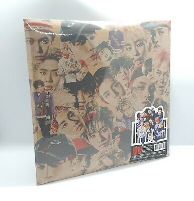 NCT 127 2nd Mini Album [NCT#127 LIMITLESS] A Ver. CD+Photo+Poster+Book+Sticker