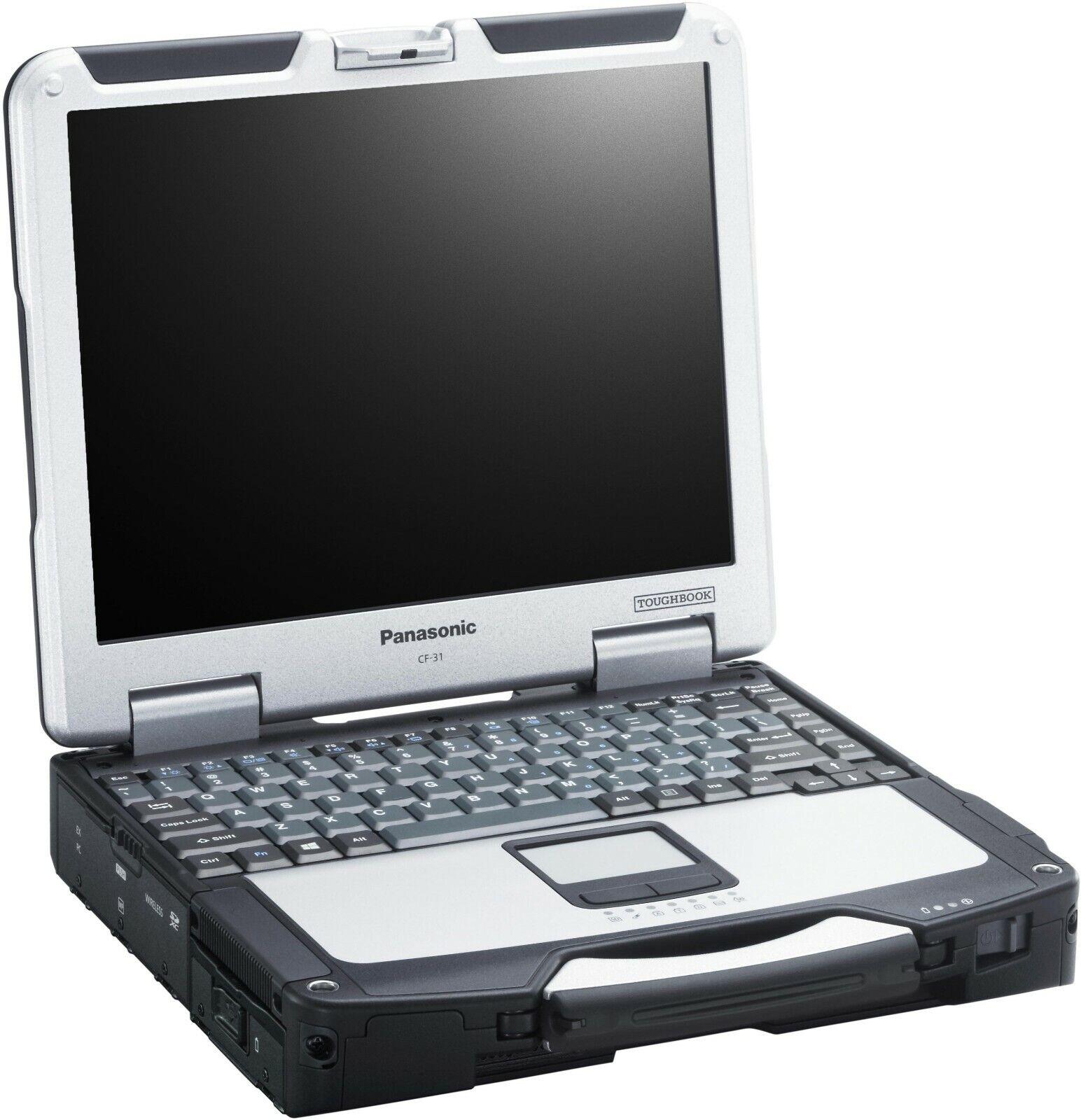 PANASONIC TOUGHBOOK Rugged Laptop CF-31WBM7BLM i5-3340M 2.7GHz,500GB,8GB,BT,GPS