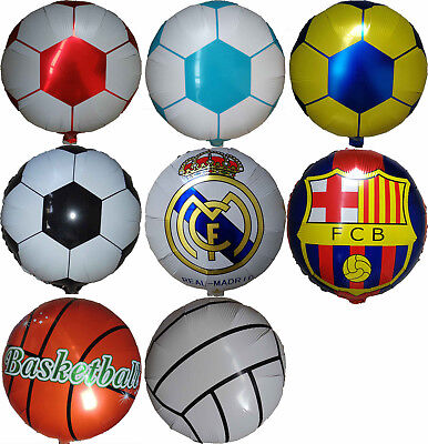SOCCER BASKETBALL VOLLEYBALL BALLOON SPORTS EVENT PARTY SUPPLIES DECOR GIFT TOY (Basketball Supplies)