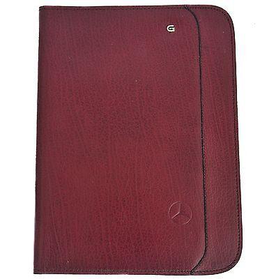 Creazione Ricardo Leather Notepad Cover Burgundy