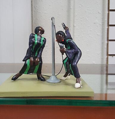 Annie Lee Figurine Eb-body Say Amen Scene 1/Religious African American Art