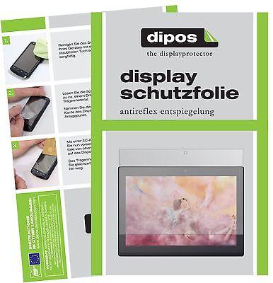 2x Lenovo Miix 320 10 Zoll Schutzfolie matt Displayschutzfolie Folie dipos
