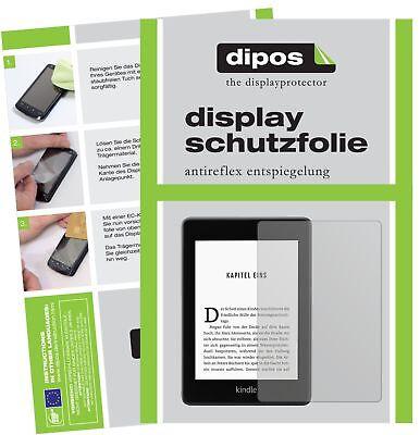 2x Amazon Kindle Paperwhite (2018) Schutzfolie matt Displayschutzfolie Folie