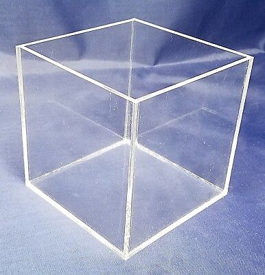 1 Clear 18 Acrylic 5-sided Cube 5 X 5 X 5 Free Shipping Usa Made