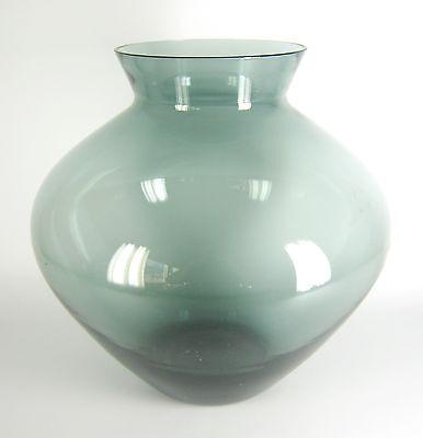 Große WMF Glas Vase Wilhelm Wagenfeld Design 50er Jahre Kristall ca. 30,5cm BIG