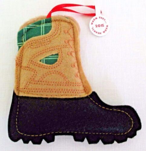 Warm Feet…Warm Heart Duck Boot Ornament
