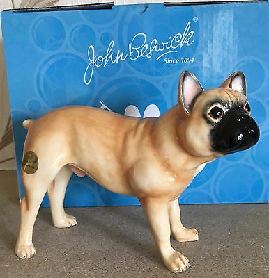 John Beswick Dog French Bulldog Fawn Light Brown Model No Jbpp1faw