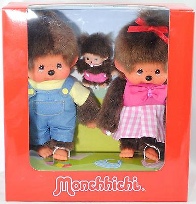 Monchhichi 254870 Monchhichi Family Set