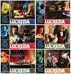LUCREZIA-SET-FOTOBUSTA-6-PZ-GIANNI-GARKO-LOU-CASTEL-SEXY-1968-MOVIE-LOBBY-CARD