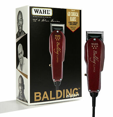 Wahl Professional 5-Star Balding Clipper #8110床屋ヘアスタイリストに最適NEW