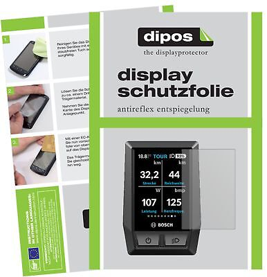 2x Bosch Kiox e-Bike Display Schutzfolie matt Displayschutzfolie Folie Display