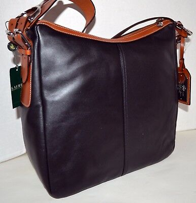 Usado, Ralph Lauren Farringdon Hobo Handbag Bag Purse Sac Bolsa Сумка MSRP$298 NWT comprar usado  Enviando para Brazil