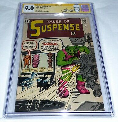 Tales of Suspense #37 CGC SS 9.0 Signature Autograph STAN LEE Silver Age Comic