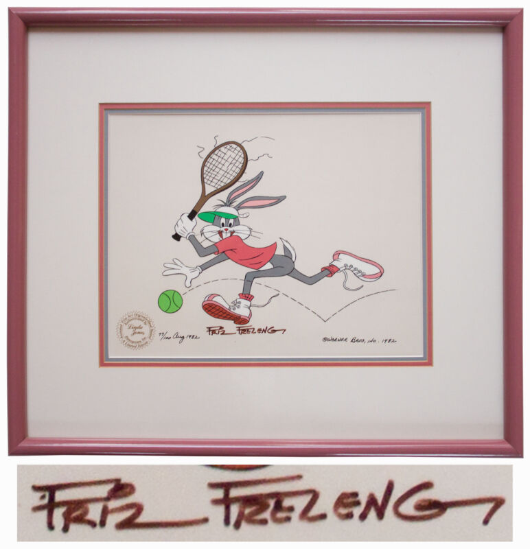Friz Freleng Bugs Bunny Limited Edition Signed Cel
