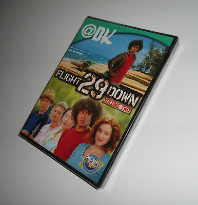 Flight 29 Down Vol. 2 Two (DVD NEW) TV Film Series, Corbin Bleu, Alvarado Movie