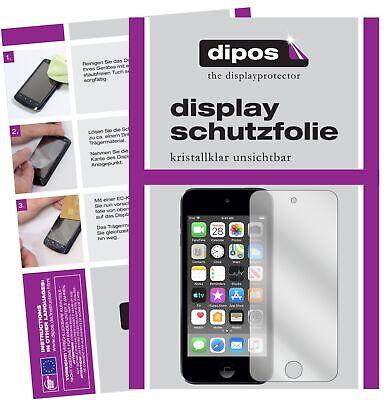 6x Apple iPod Touch (2019) Schutzfolie klar Displayschutzfolie Folie Display Premium Ipod Touch