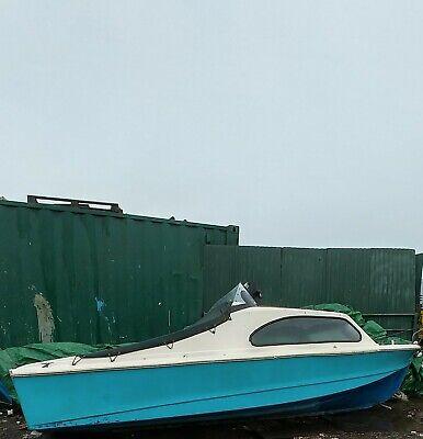 Shetland 535 fishing / day boat 18 ft