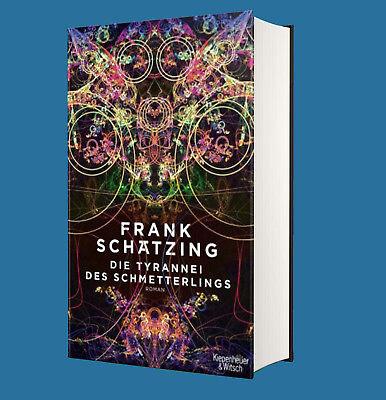 Die Tyrannei des Schmetterlings - Frank Schätzing - SOFORT LIEFERBAR