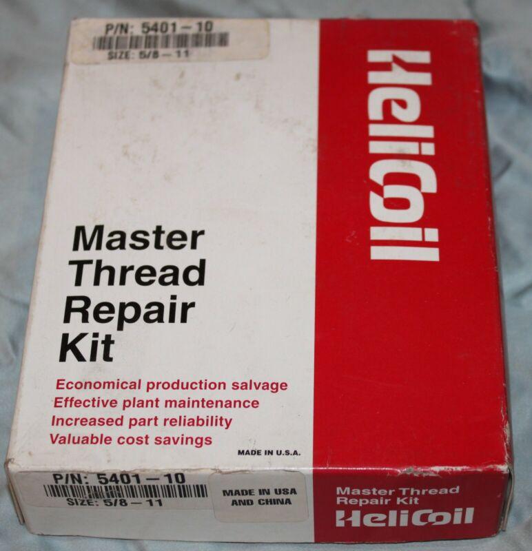 HELICOIL  MASTER THREAD REPAIR KIT 5/8-11 HELI COIL 5401-10