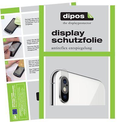 6x Apple iPhone XS Max Kamera Schutzfolie matt Displayschutzfolie Folie Display