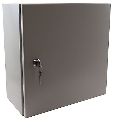 16 12 8 Metal Nema Type 4 Enclosure W B Pl Yc-16x12x8-ul-el-2-kf With Lock
