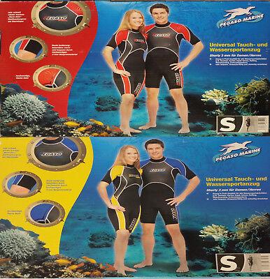 Damen-Herren Wassersportanzug Pegaso 3.mm Neopren Taucheranzug Schwimanzug Gr-S
