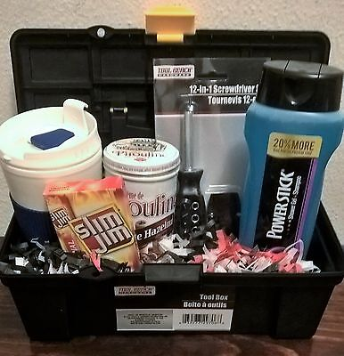 MEN'S GIFT BASKET, GIFT SET FOR DAD-Tool Box/Tool Set-  For Any Occasion!