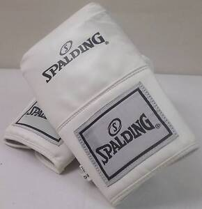 Spalding White Cardio Boxing Training Heavy Bag Gloves - XL Blakeview Playford Area Preview