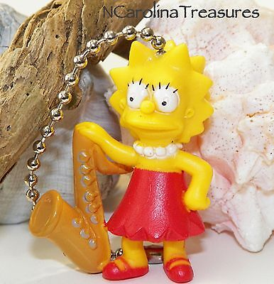 LISA SIMPSON FOX TV CHARACTER THE SIMPSONS CEILING FAN LIGHT SWITCH PULL NEW