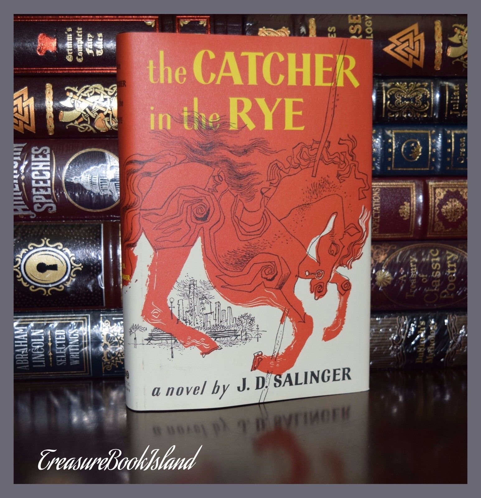 an analysis of symbolic items in the catcher in the rye a novel by j d salinger Issuu is a digital publishing j d salinger's the catcher in the rye glass-encased exhibits in his masterly novel no t e s 1 j d salinger, the.