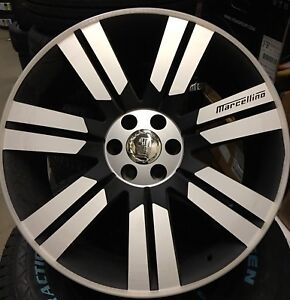 """Marcellino luxury mags 24"""" 6x139.7 special 1599$"""