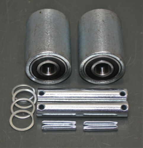 (2) Dayton Load Wheel Kits MHAC-04SLG, 6203RS for Pallet Jacks 2ZE59 & 2ZE63