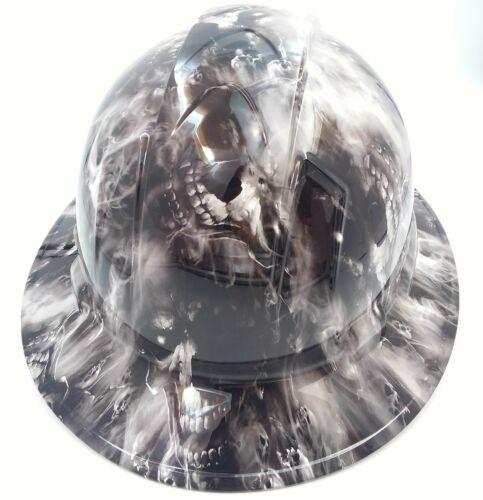 Hard Hat custom hydro dipped , OSHA approved FULL BRIM,HELL HAVE NO MERCY HADES 3