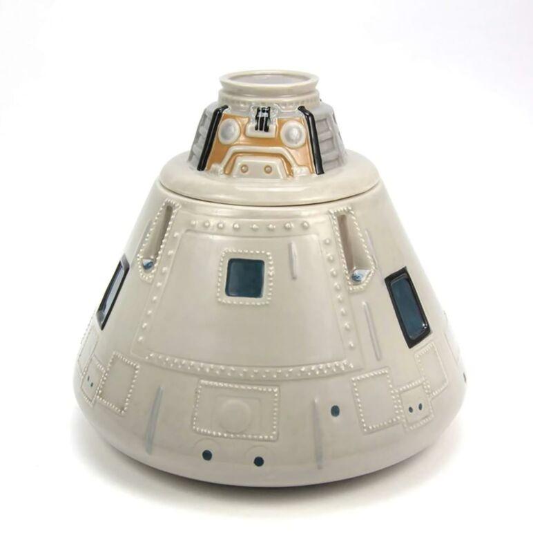 NASA Apollo Capsule Ceramic Cookie Jar
