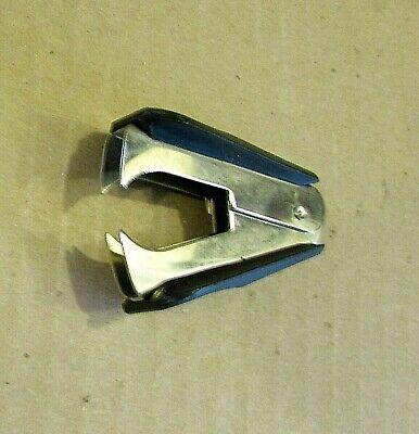Vintage 1990s Good Working Black Handheld Spring Action Staple Remover Free Sh