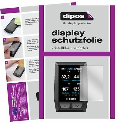6x Bosch Kiox e-Bike Display Schutzfolie klar Displayschutzfolie Folie Display