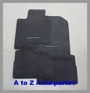 Oem Hyundai Sonata Floor Mats Ebay