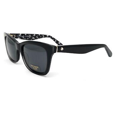 Kate Spade Sunglasses JENAE S30 Black Cream Trans Women 53x17x135