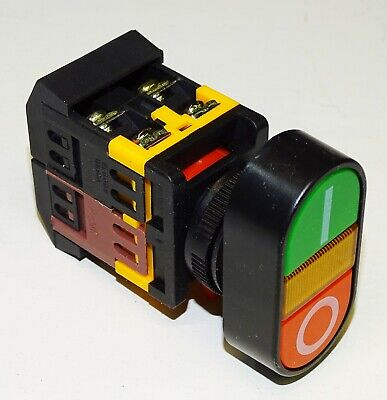 Industrial Stop Start Button Motor Controls 22mm Machinery On Off Buttons
