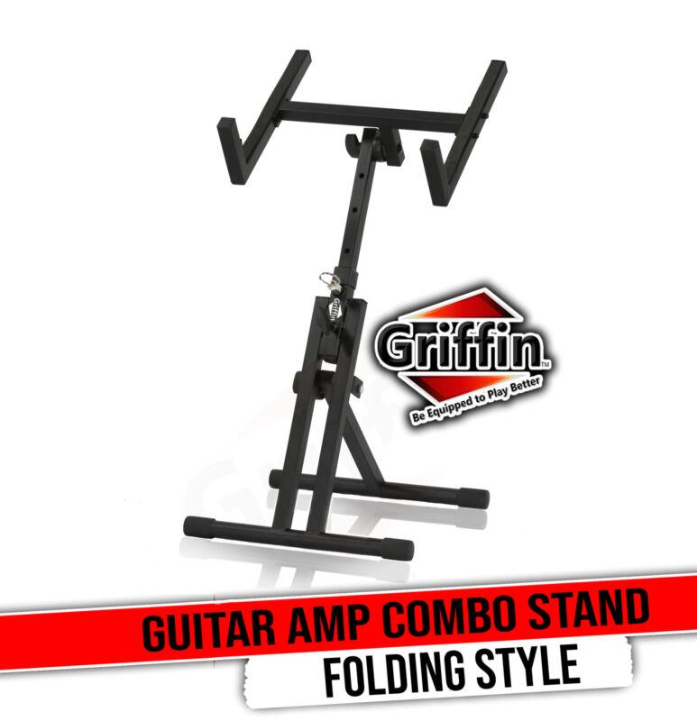 Guitar Combo Amplifier Stand by GRIFFIN   PA Speaker Karaoke Monitor Holder