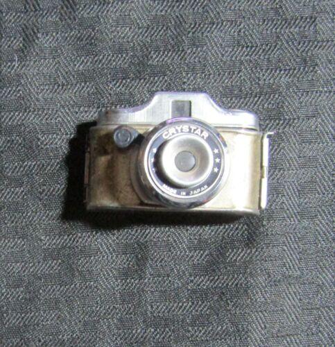 "Vintage 1950s? CRYSTAR 2.25"" Spy Mini-Camera VG+ 4.5 Mail-Away/Prize?"