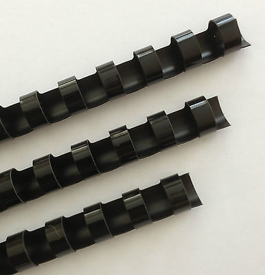 916 Plastic Binding Combs - Black - Set Of 25